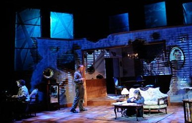 a review of the debut of the play the glass menagerie in chicago civic theater in 1944 The debut on december 26, 1944, the glass menagerie opened for the first time  at the civic theatre in chicago the original cast of the show.
