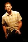 Donnie Mather as Allen Ginsberg. Photo by Ben Strothman.