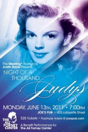 2011 Night of a Thousand Judys. Monday June 13, 2011 at Joe's Pub.