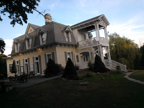 Nelson C. & Aida White House, residence for playwrights and Conference all-stars. Image by Martha Wade Steketee.