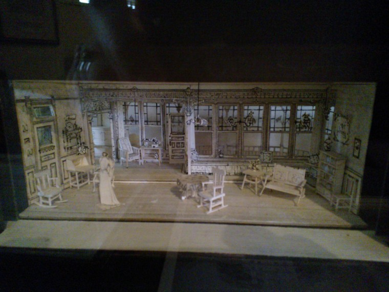 Set Model by Michael Yeargan for Ah, Wilderness! (1988) at Yale Repertory Theatre.