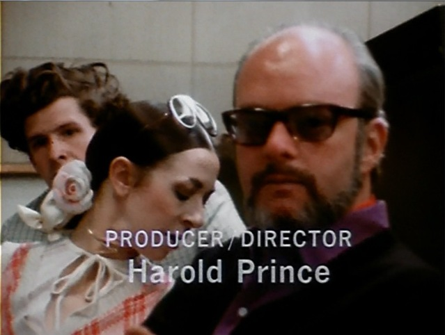 (L-R) Stephen Paley, D.D.Ryan, Harold Prince. Screen capture Martha Wade Steketee.