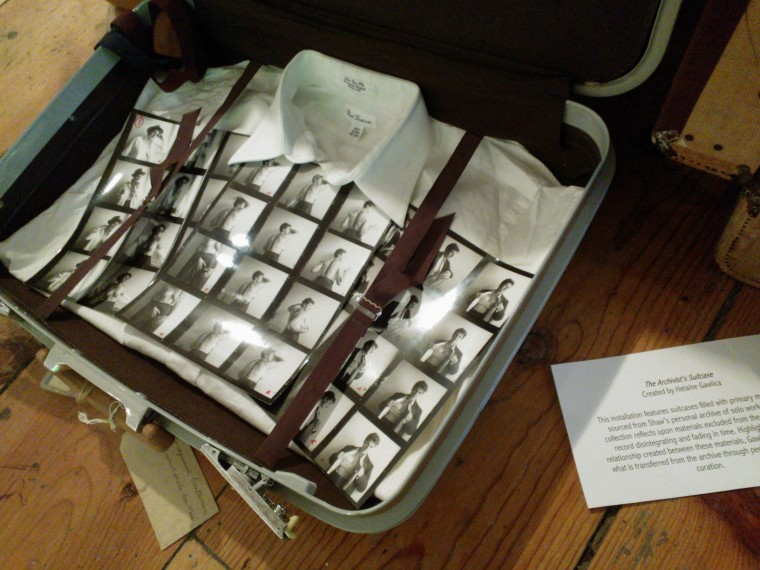 """""""The Artist's Suitcase."""" Image by Martha Wade Steketee."""