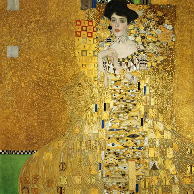 Gustav Klimt, Adele Bloch-Bauer I (1907).
