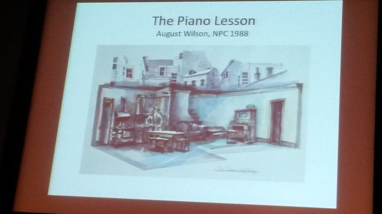 Dream Design sketch for August Wilson's The Piano Lesson. Image by Martha Wade Steketee.