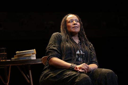 Dael Orlandersmith. Photo by Joan Marcus.