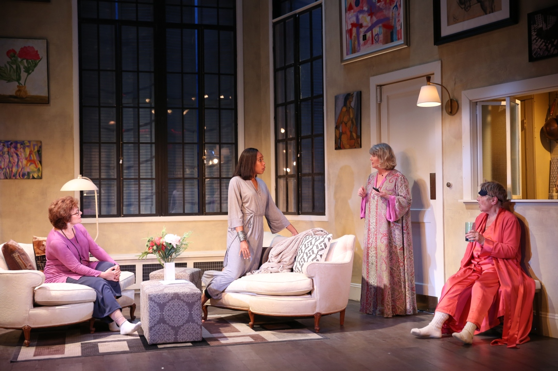Angelica Fiordellisi, Francesca Choy-Kee, Judith Ivey and Estelle Parsons. Photo by Carol Rosegg