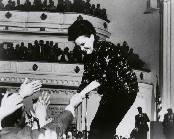 Judy Garland at Carnegie Hall. April 23, 1961.