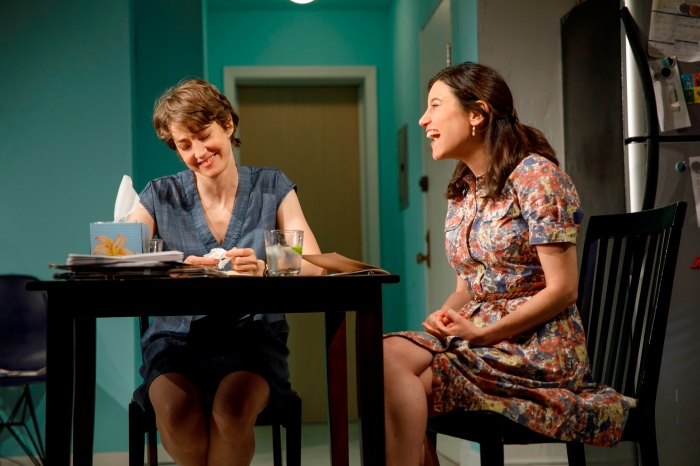 image 3 Carrie Coon & Susan Pourfar (joan marcus)