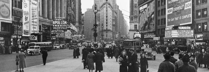 1938 January Times Bldg Loews Theatre Hotel Astor Gaiety others (s_n21_wpa00552) [crop 2]