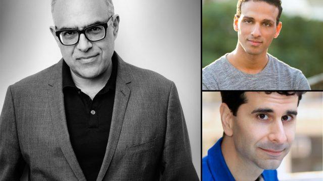 David Yazbek, Ari'el Stachel, John Cariani