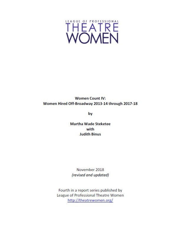 Women Count IV (revised) title page image